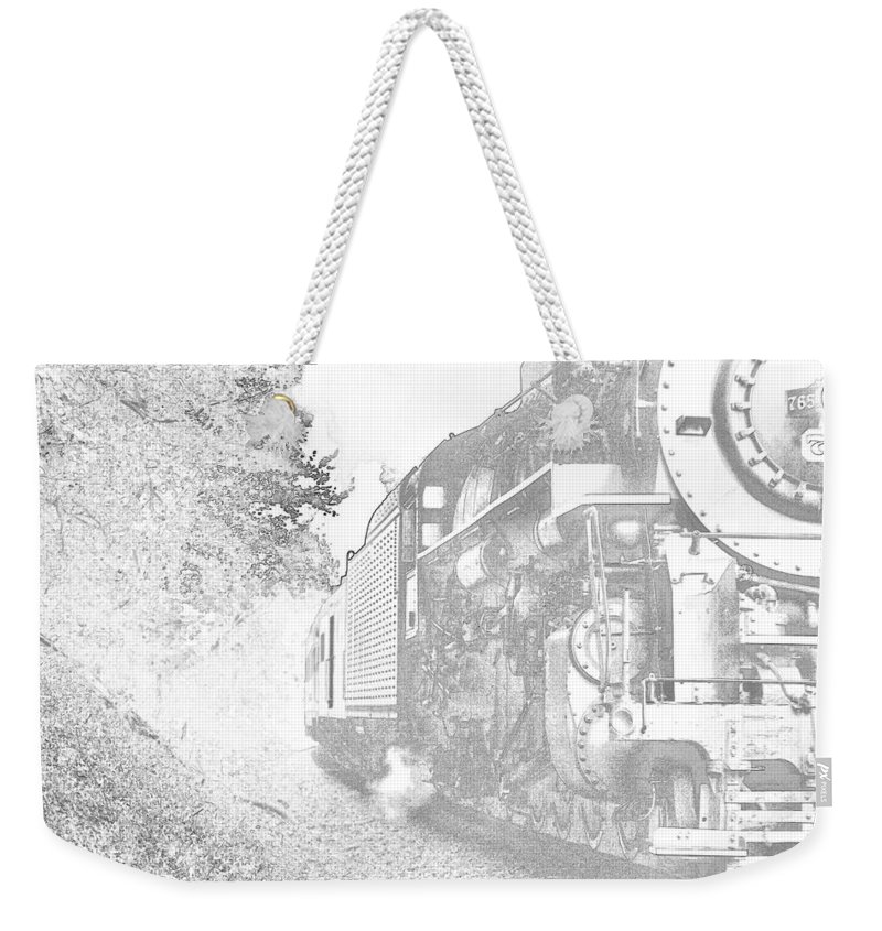 765 Weekender Tote Bag featuring the photograph Old 765 by Jack R Perry