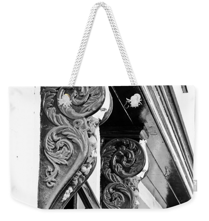 Architecture Weekender Tote Bag featuring the photograph Old Architecture by Tom Gowanlock