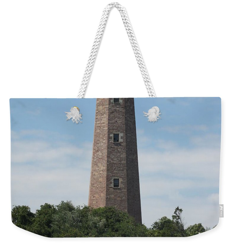 Lighthouse Weekender Tote Bag featuring the photograph Old Cape Henry Lighthouse by Christiane Schulze Art And Photography