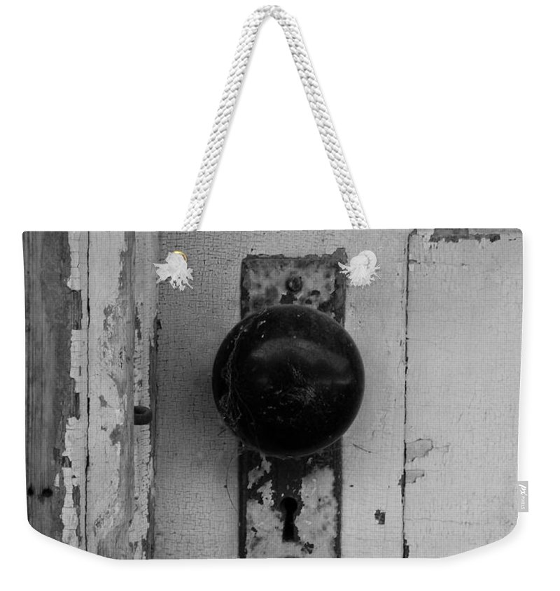 Door Weekender Tote Bag featuring the photograph Old Door by Gale Cochran-Smith