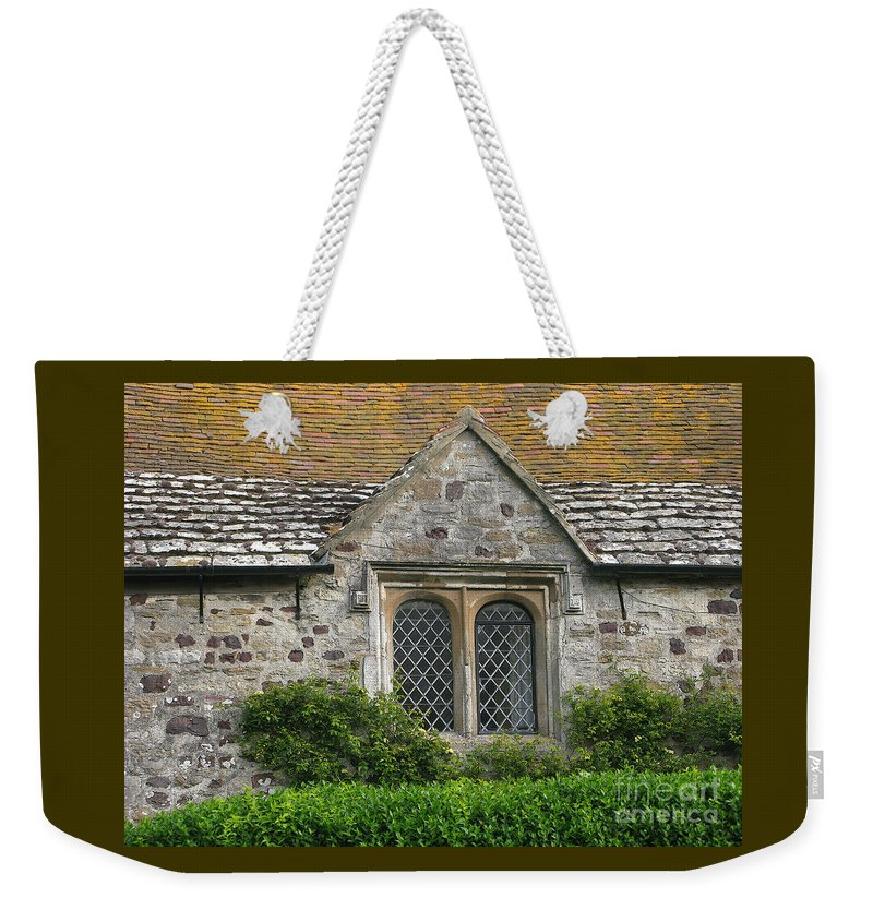 England Weekender Tote Bag featuring the photograph Old English by Ann Horn