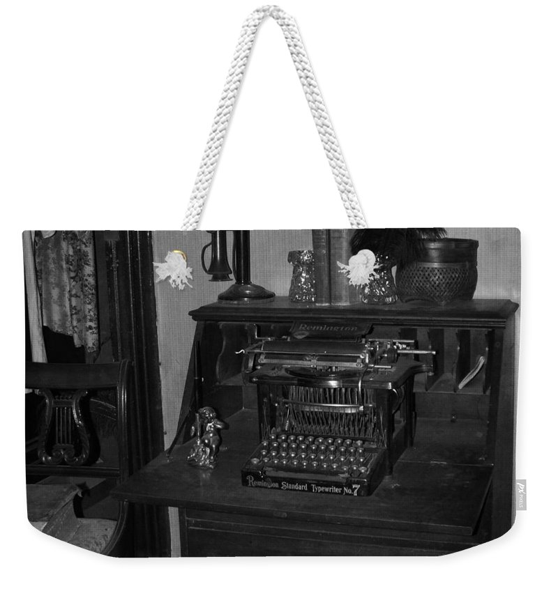 Vintage Weekender Tote Bag featuring the photograph Old Fashion by Image Takers Photography LLC - Carol Haddon