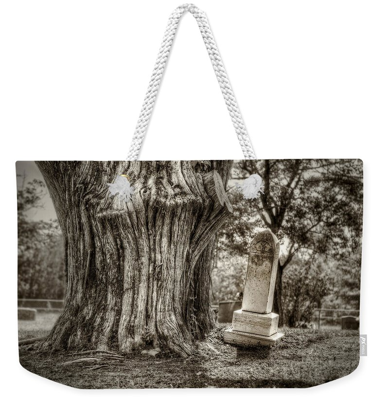 Cedar Weekender Tote Bag featuring the photograph Old Friends by Scott Norris