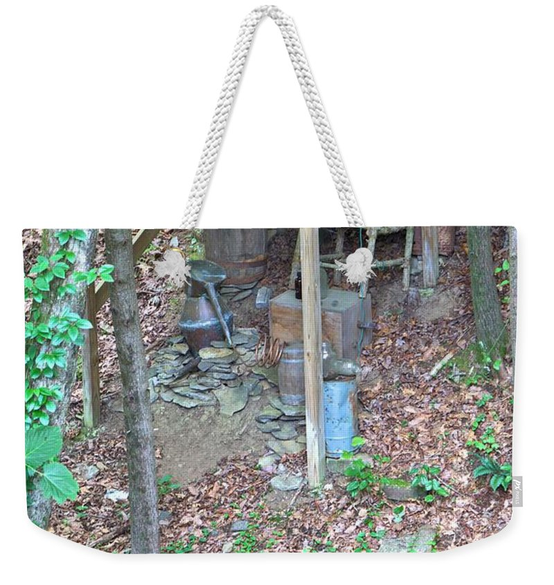 8820 Weekender Tote Bag featuring the photograph Old Mountain Still by Gordon Elwell