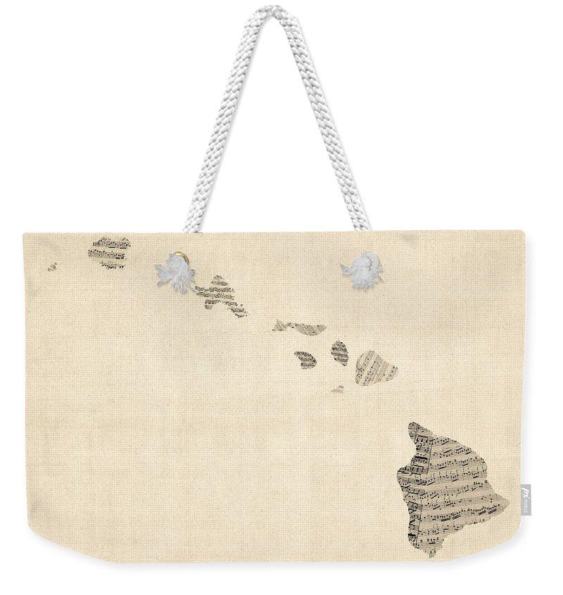 Old Weekender Tote Bags