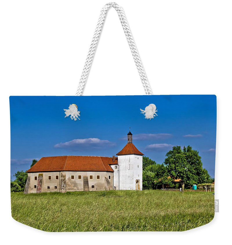 Croatia Weekender Tote Bag featuring the photograph Old Town Fortress In Durdevac Croatia by Brch Photography