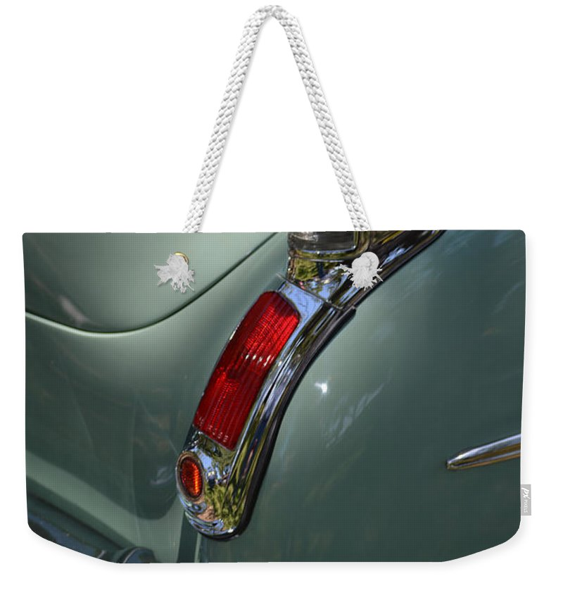Olds Weekender Tote Bag featuring the photograph Oldsmobile 88 by Gale Cochran-Smith
