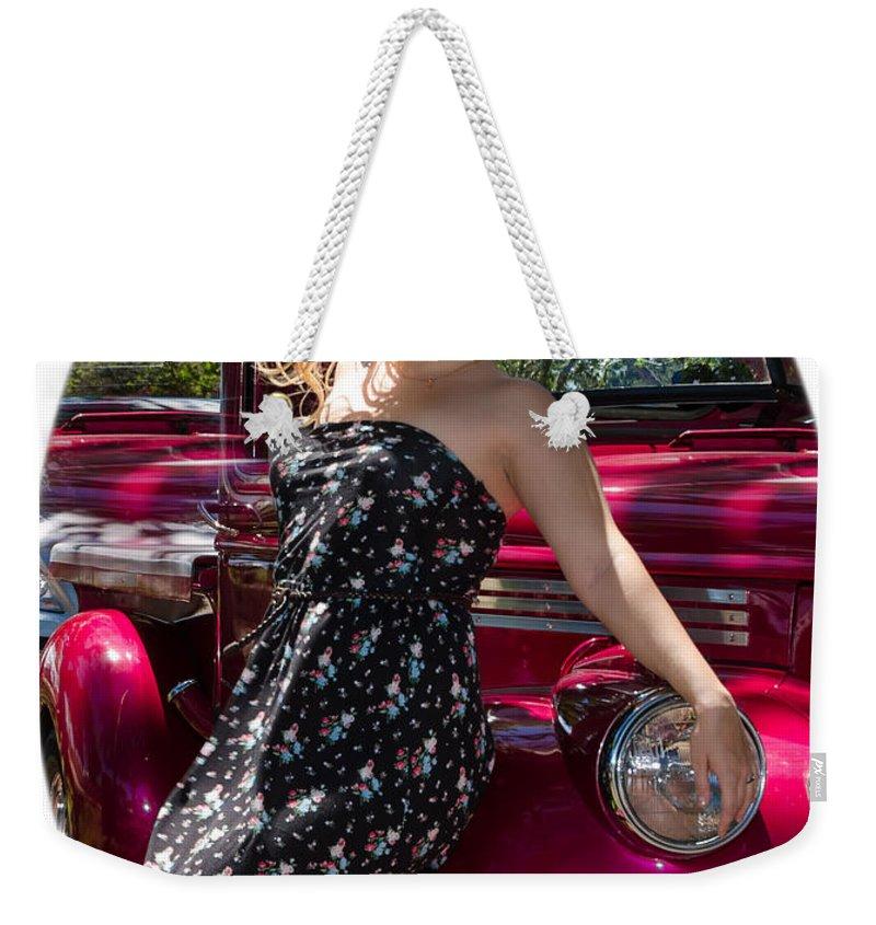 Beautiful Weekender Tote Bag featuring the photograph Olga 10 by Nikolai Martusheff