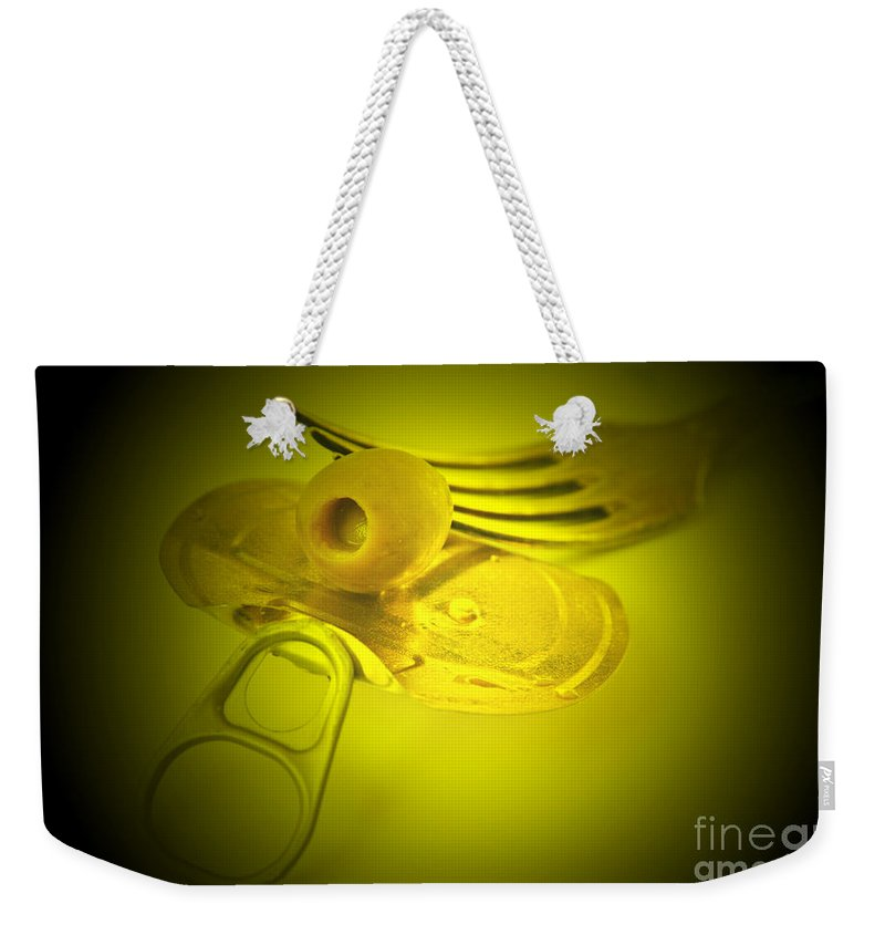 Olive Weekender Tote Bag featuring the photograph Olive by Lali Kacharava