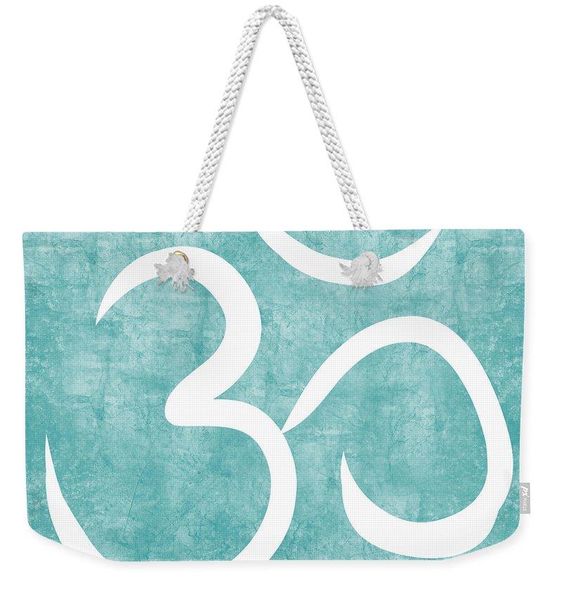 Om Weekender Tote Bags