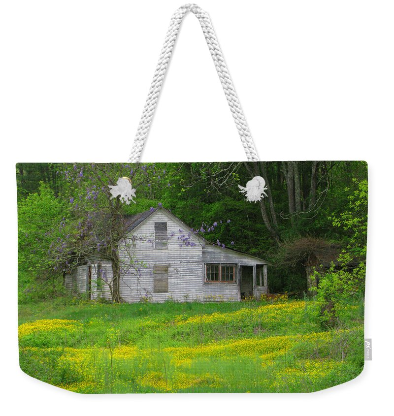 Art Sale Weekender Tote Bag featuring the photograph Once Upon A Time by John Irons
