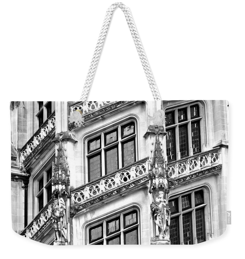 Unique Weekender Tote Bag featuring the photograph One Of A Kind by Frozen in Time Fine Art Photography