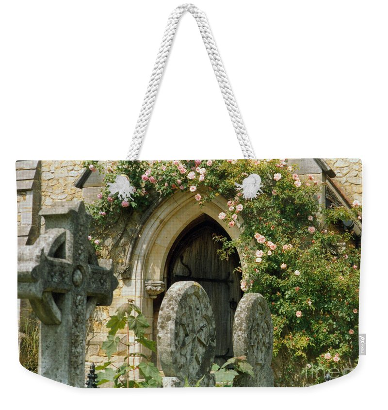Church Weekender Tote Bag featuring the photograph Open Paths by Christine Jepsen