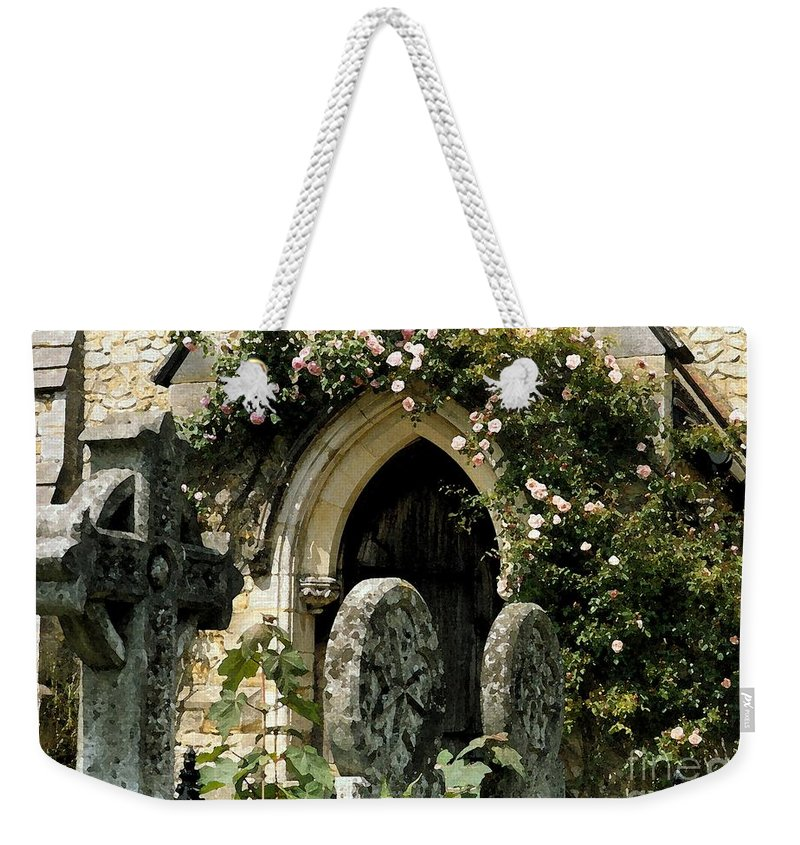 Door Weekender Tote Bag featuring the photograph Open Paths II by Christine Jepsen