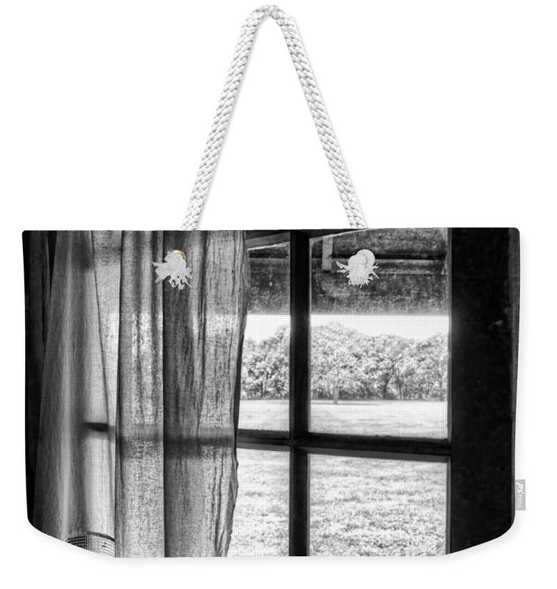 Open Window Weekender Tote Bag featuring the photograph Open Window by Nikolyn McDonald