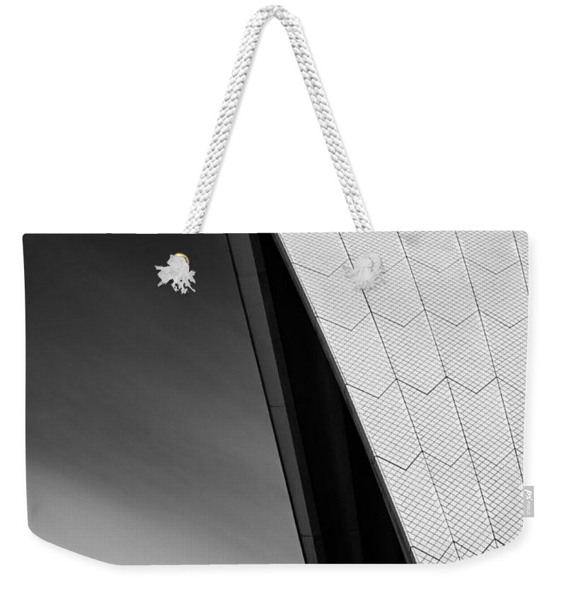 Sydney Opera House Weekender Tote Bag featuring the photograph Opera House by Dave Bowman