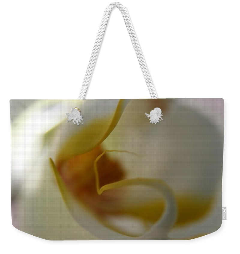 Orchid Weekender Tote Bag featuring the photograph Orchid In Light by Neal Eslinger