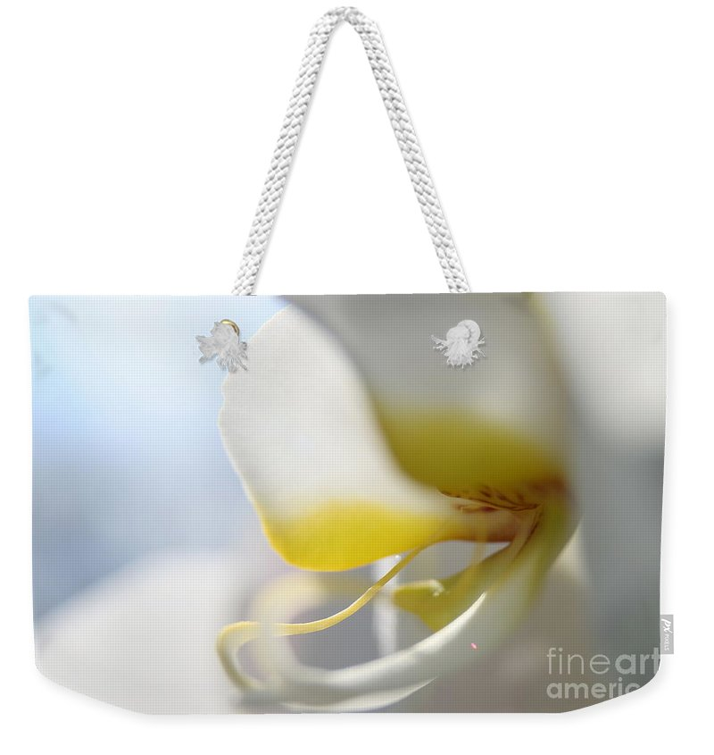 Orchid Weekender Tote Bag featuring the photograph Orchid Melody by Neal Eslinger
