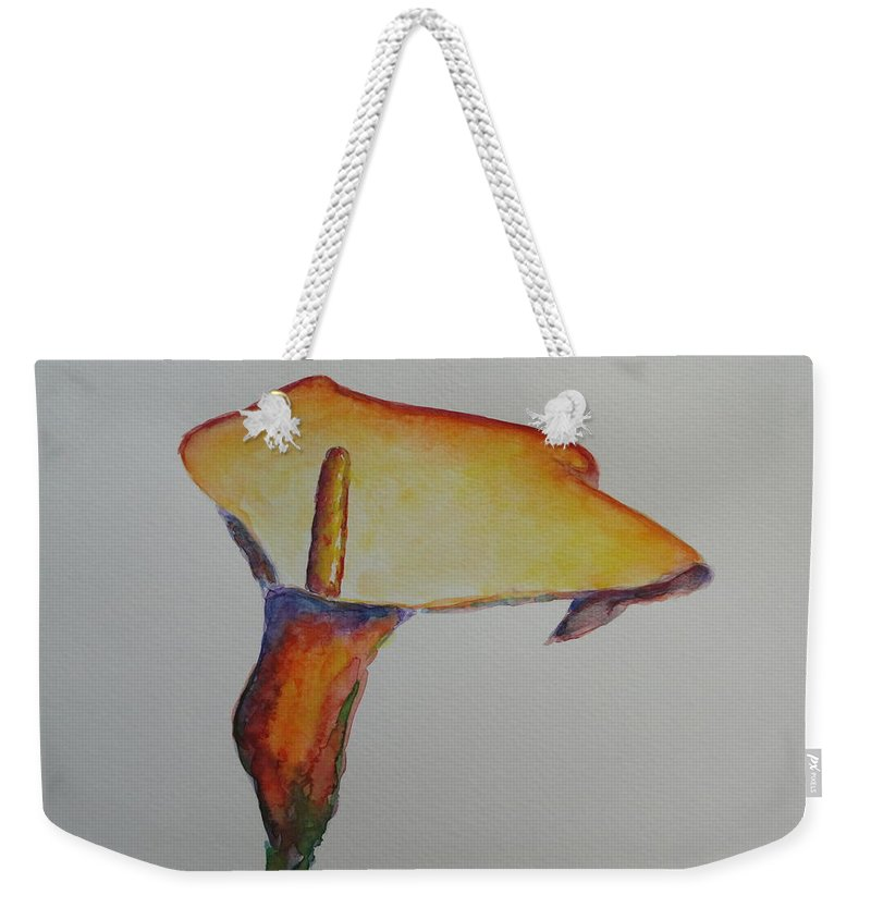 Ostara Weekender Tote Bag featuring the painting Ostara by Shannon Grissom