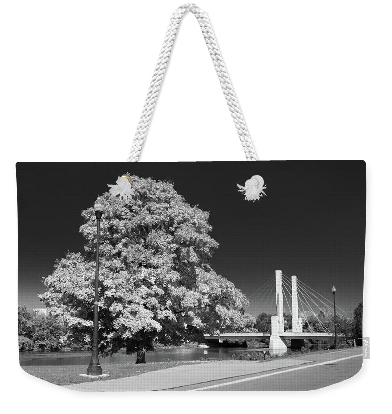 Forest Weekender Tote Bag featuring the photograph Osu Campus 9216 by Guy Whiteley