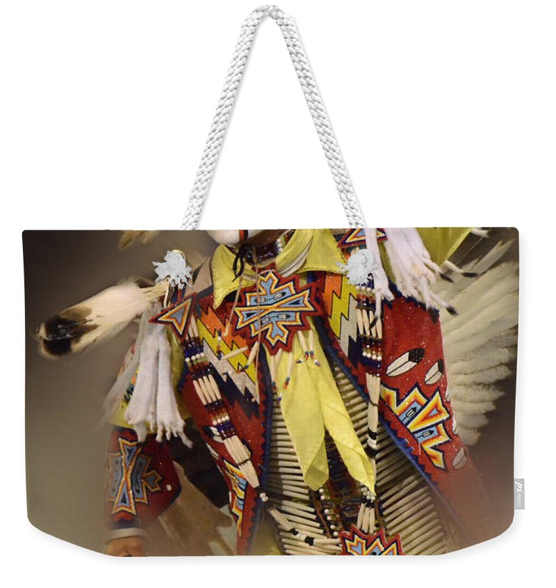 Pow Wow Weekender Tote Bag featuring the photograph Out Of Time by Bob Christopher