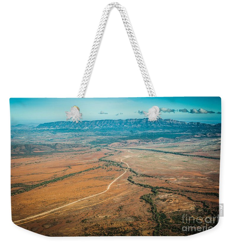 Outback Weekender Tote Bag featuring the photograph Outback Flinders Ranges by Ray Warren