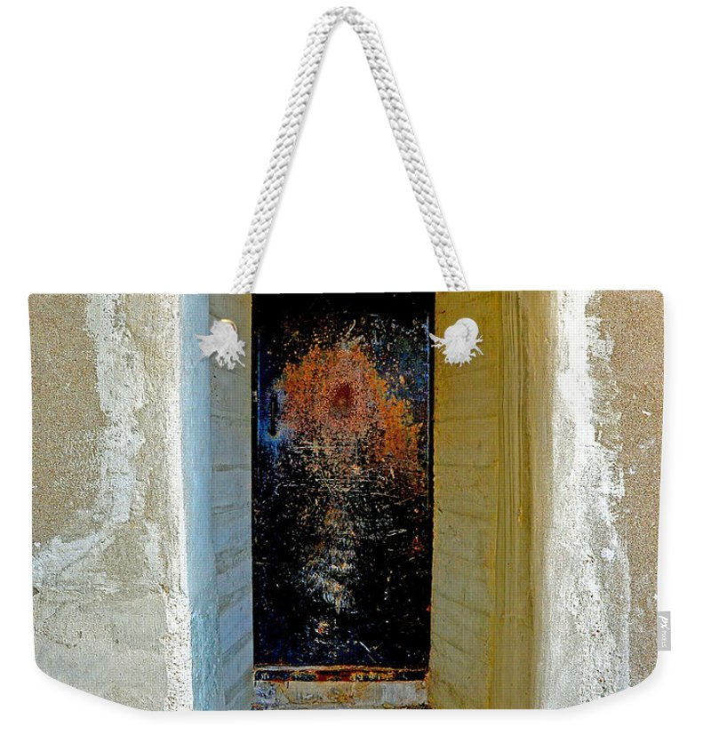 Abstract Weekender Tote Bag featuring the photograph Outer Limits by Lauren Leigh Hunter Fine Art Photography