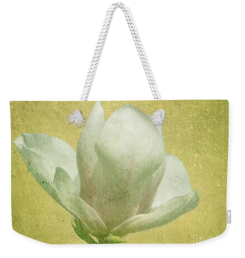 Bloom Weekender Tote Bag featuring the photograph Outer Magnolia by Jeffrey Kolker