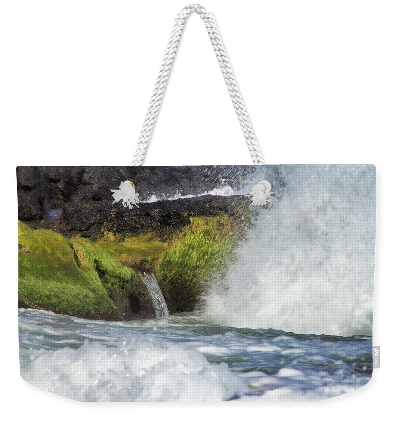 Sea Spout Weekender Tote Bag featuring the photograph Outlet by Douglas Barnard
