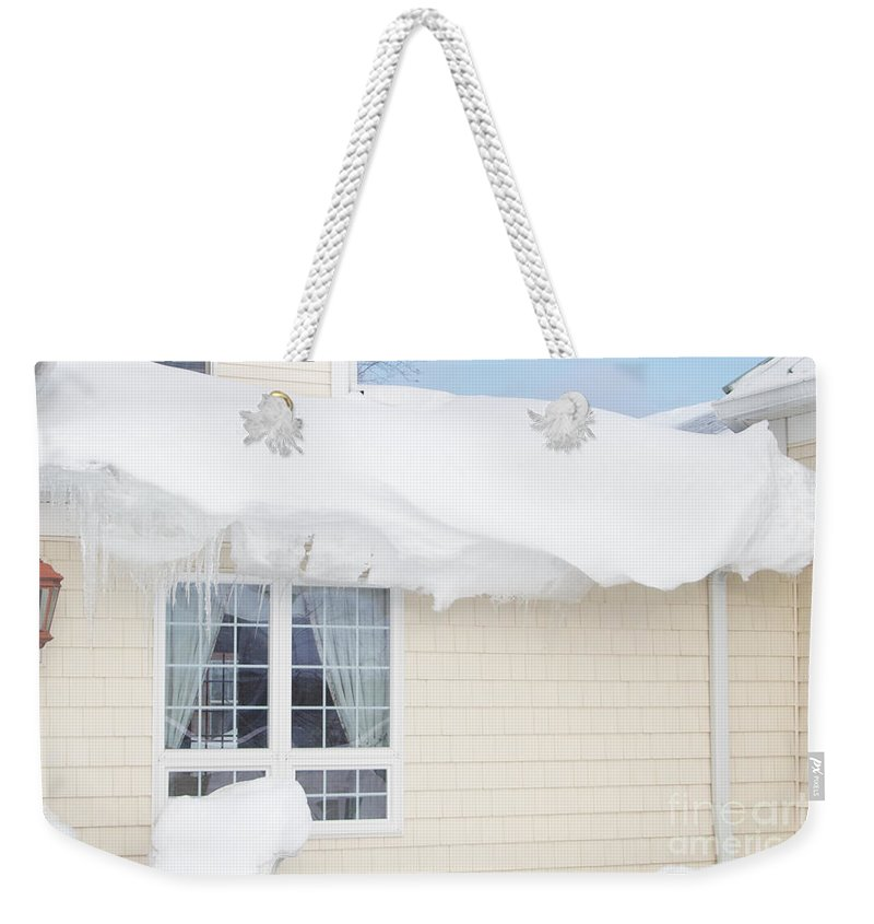 Overhang Weekender Tote Bag featuring the photograph Overhang by William Norton
