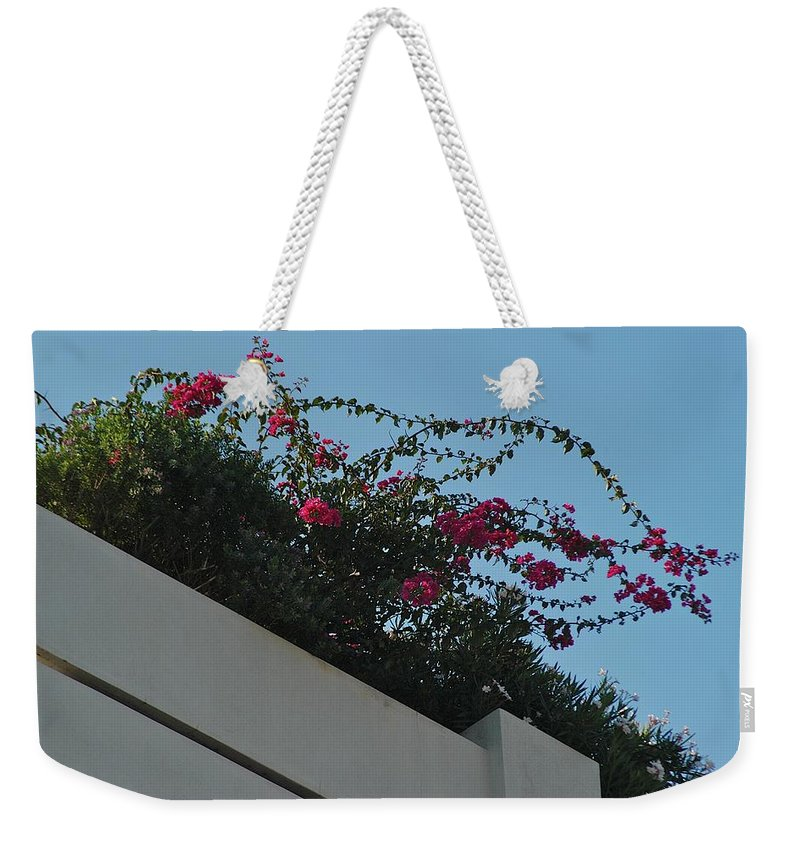 Architecture Weekender Tote Bag featuring the photograph Overlook by Joseph Yarbrough