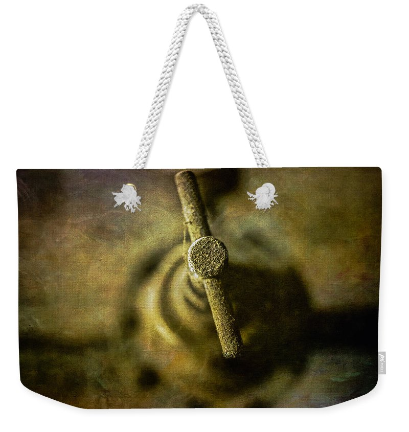 Abandoned Weekender Tote Bag featuring the photograph Pacific Airmotive Corp 23 by YoPedro