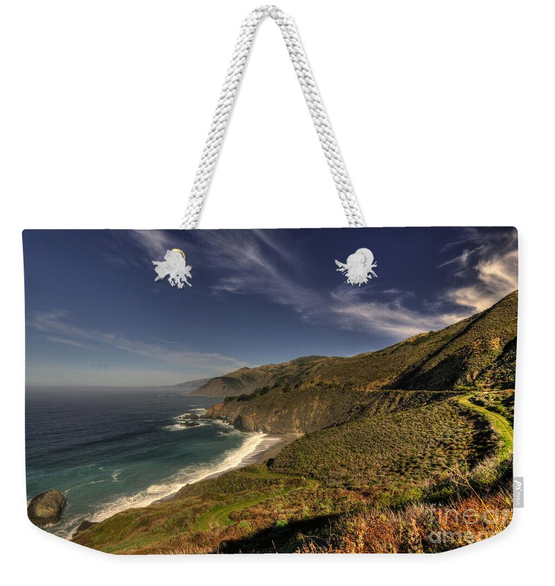 Pacific Weekender Tote Bag featuring the photograph Pacific View by Rob Hawkins