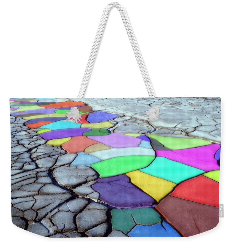Dramatic Weekender Tote Bag featuring the photograph Painted Desert by Edmund Nagele