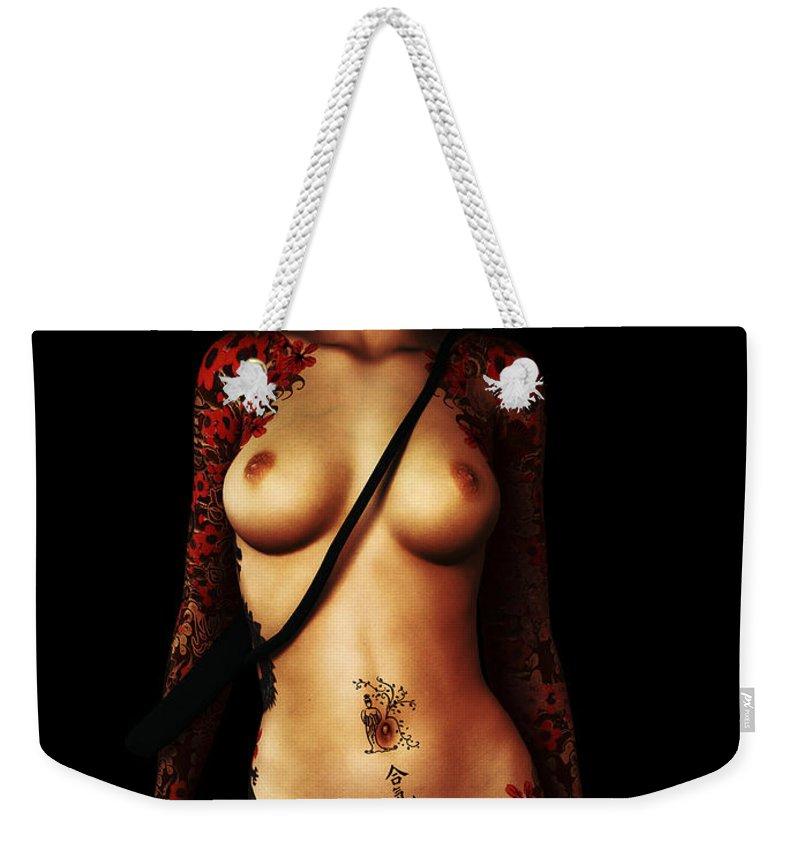Kinky Weekender Tote Bags