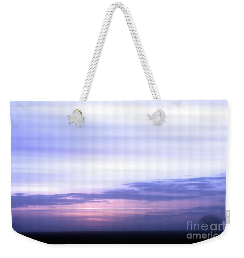 Sunset Weekender Tote Bag featuring the photograph Painted Sky by Nick Gustafson