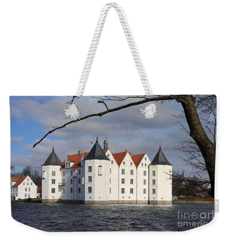 Palace Weekender Tote Bag featuring the photograph Palace Gluecksburg - Germany by Christiane Schulze Art And Photography
