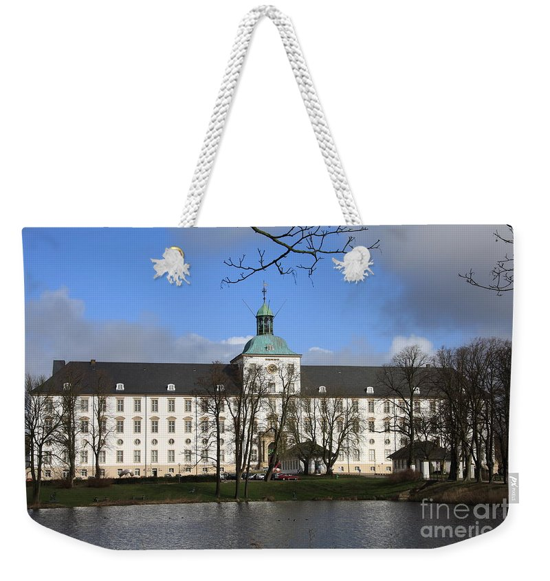 Palace Weekender Tote Bag featuring the photograph Palace Gottorf - Schleswig by Christiane Schulze Art And Photography