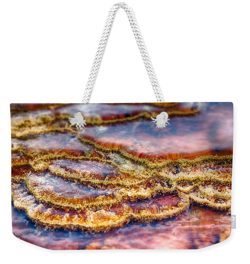 Hot Springs Weekender Tote Bag featuring the photograph Pancakes Hot Springs by Scott Campbell