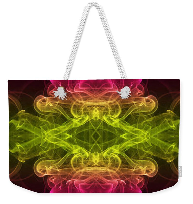 Smoking Trails Weekender Tote Bag featuring the photograph Pandoras Box by Steve Purnell
