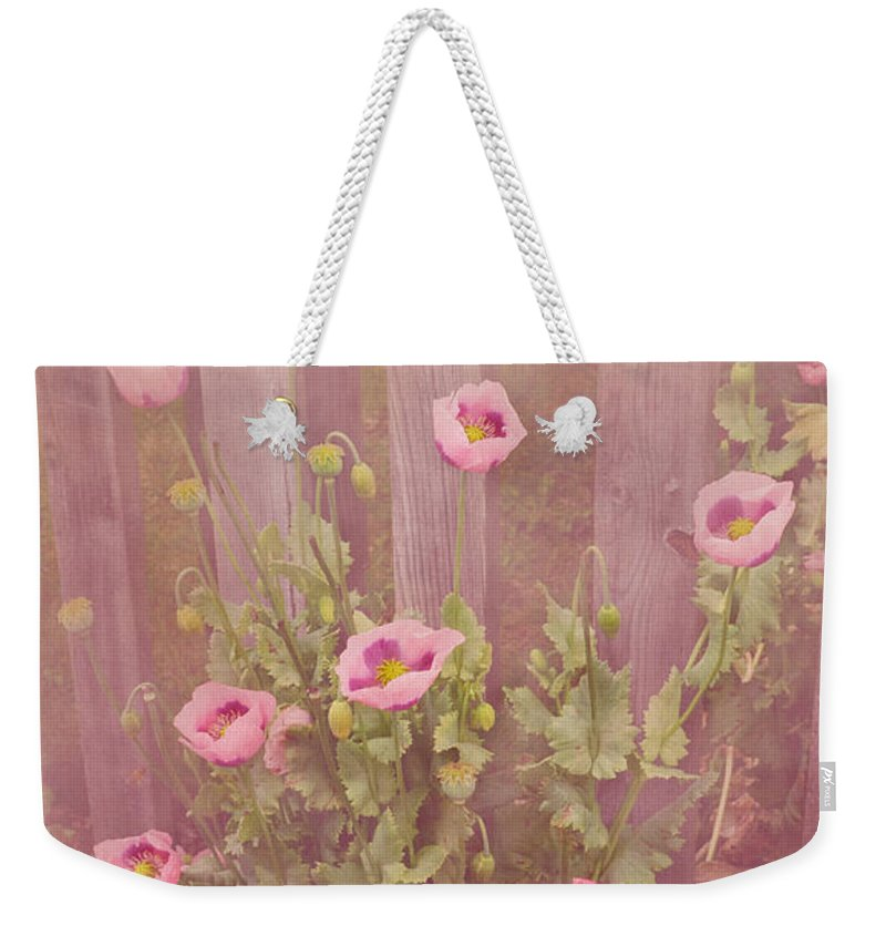 Poppy Weekender Tote Bag featuring the photograph Papaver Orientale 2 by Linsey Williams