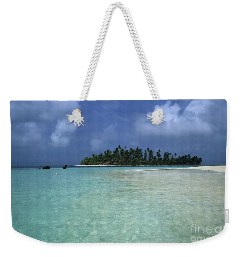 Panama Weekender Tote Bag featuring the photograph Paradise Island 1 by James Brunker