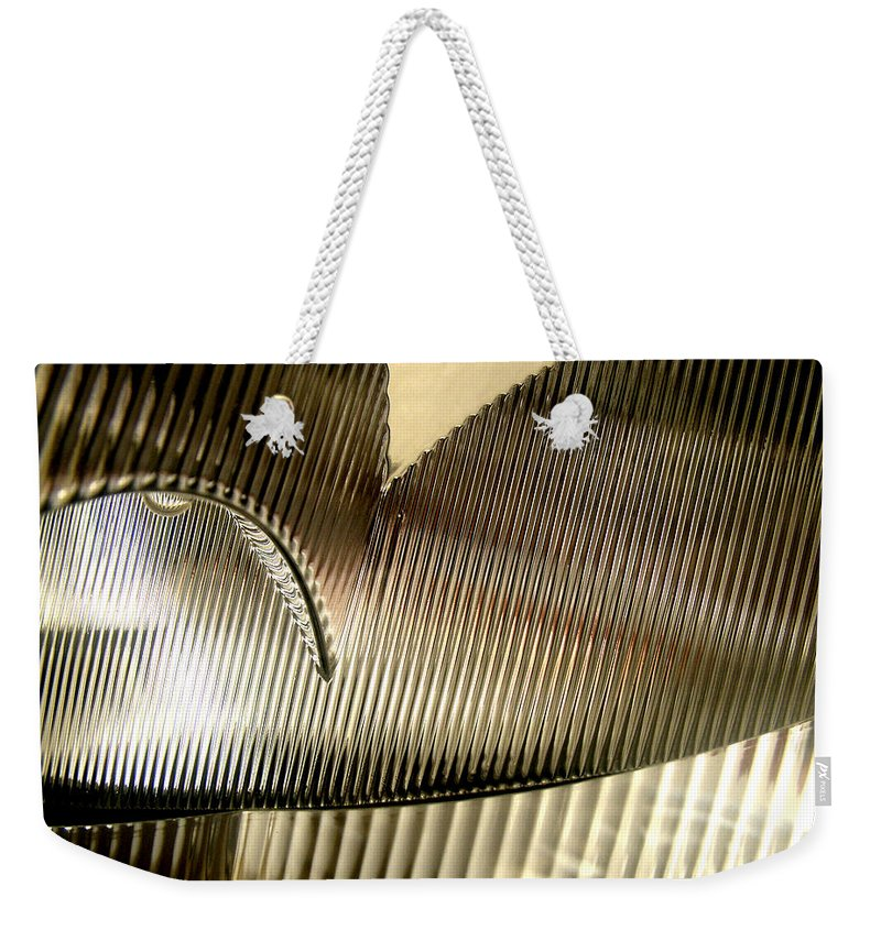 Parallels Weekender Tote Bag featuring the photograph Parallels by Carlos Vieira