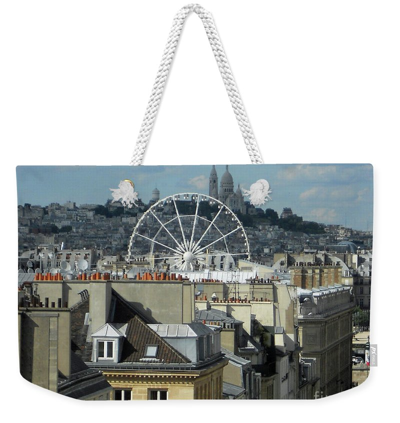 Abstract Weekender Tote Bag featuring the photograph Parisscope by Lauren Leigh Hunter Fine Art Photography