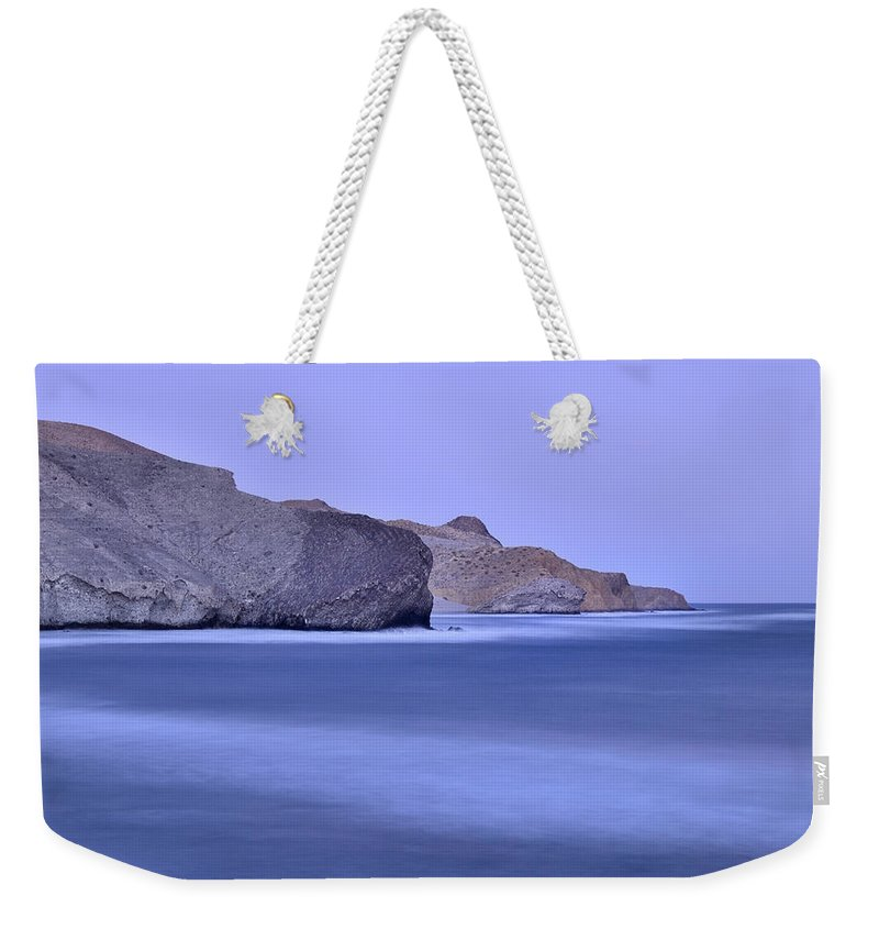 Seascape Weekender Tote Bag featuring the photograph Parque Natural Cabo De Gata Almeria Spain by Guido Montanes Castillo