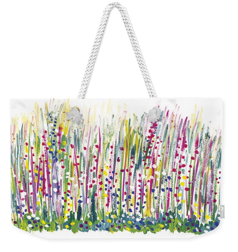Spring Weekender Tote Bag featuring the painting Pastel by Bjorn Sjogren