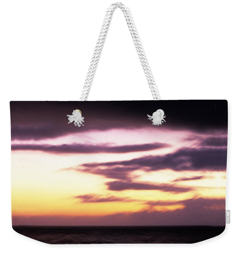 Flash Photography Weekender Tote Bag featuring the photograph Pastel Flash by Sean Davey