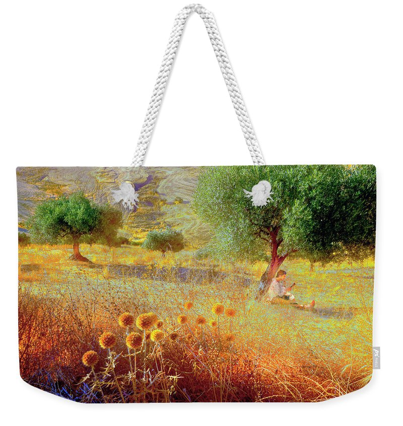 Pastelero Weekender Tote Bag featuring the photograph Pastelero Spain by Mal Bray