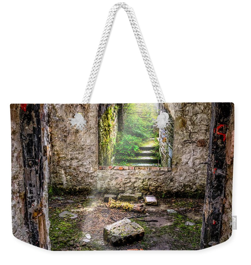 British Weekender Tote Bag featuring the photograph Path Less Travelled by Adrian Evans