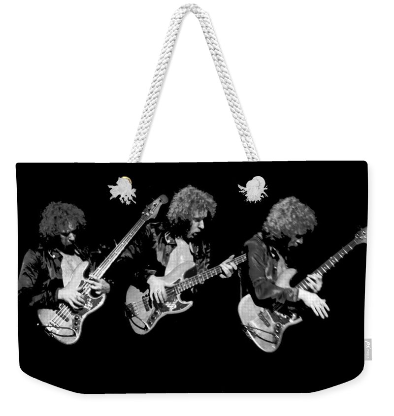 Paul Harwood Weekender Tote Bag featuring the photograph Paul Harwood Is Beside Himself by Ben Upham